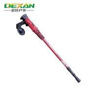 Outdoor ultra-light carbon rod hiking pole multicolour eva handle carbon 2