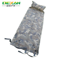 Folded outdoor automatic inflatable cushion pad single moisture-proof pad patchwork