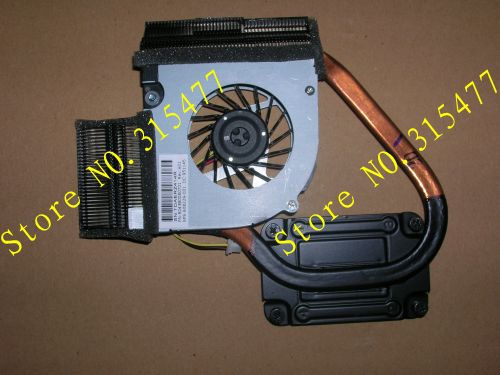 new laptop heatpipe cooler fan for HP Pavilion DM4 PN:6043B0080701 SPS:608229-001 DC:951145(China (Mainland))