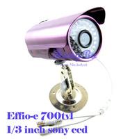 security camera Effio-e 700TVL 1/3 sony ccd  Color 36IR Home Surveillance camera