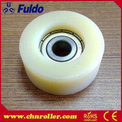 Virgin Cast Nylon Bearings Roller for Stair Lifts, Plastic Roller MCF-40/10(China (Mainland))