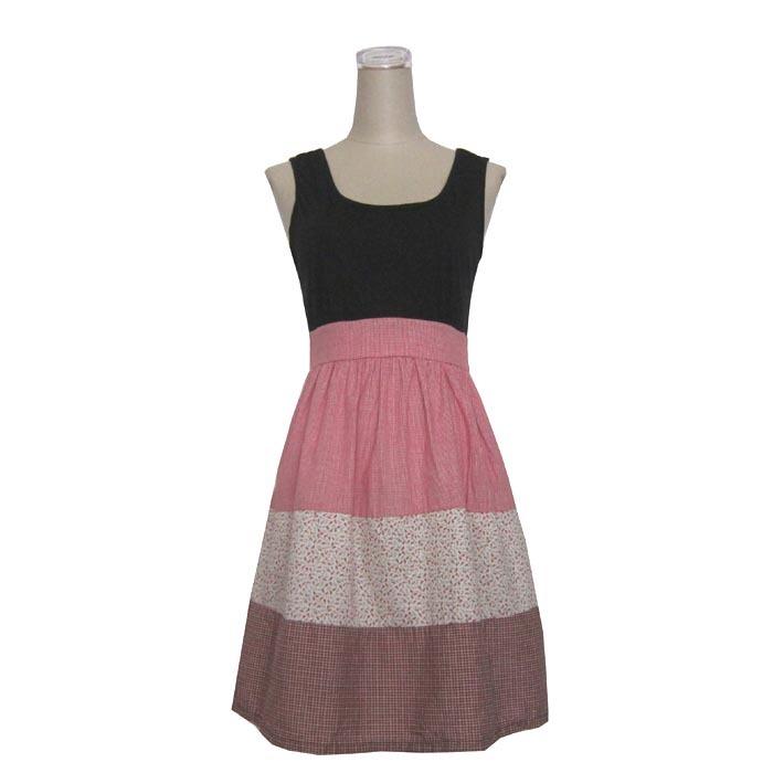 двойной! Mossimo пэчворк цельный платье