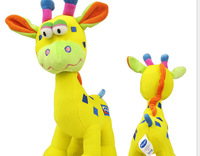 Free shipping  Multi-function playgro giraffe plush toys lathe hang with music/BB device/tooth gum clusters deer