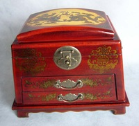 Antique jewelry box antique dressing jewelry box makeup mirror antique storage box