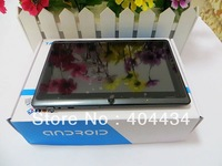 10pcs Allwinner A13 Q88 android 4.0 tablet pc 7inch capacitive 1.2GHz 8GB Webcam