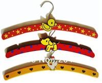 Household Products Childern Clothes Hander Wardrobe Wood Holder Cartoon Racks Pants Hanger