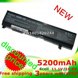PA3399U-1BAS Battery For TOSHIBA Satellite A100 A80 A105 PA3399U PA3399 PA3399U-1BAS, PA3399U-1BRS, PA3399U-2BAS, PA3399U-2BRS(China (Mainland))