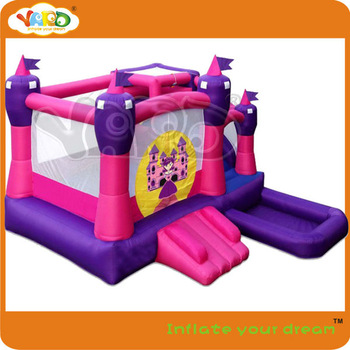 Princess inflatable jumper bouncer,bouncing jumper included blower