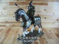 free shipping, Vintage armor home decoration iron model decoration