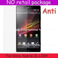For Sony Xperia ZL L35H,screen guard film saver protector,Anti-Scratch Anti Matte Glare,DHL shipping,NO pacakge