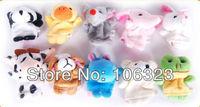 Very cute, Animal Plush Finger Puppet, Mini Hand Puppet Talking Props, Kids Plush Toys, Best Boby Christmas Gift, 10 pcs/set