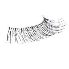 Natural Human Hair False Eyelashes - Extra Long Handmade Eyelashes - 10pairs per box - Combination Postage(China (Mainland))