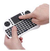 2.4GHz UKB-500-RF 2-IN-1 Smart Wireless Air Mouse + Touchpad Handheld Keyboard Combo 5pcs/lot free shipping