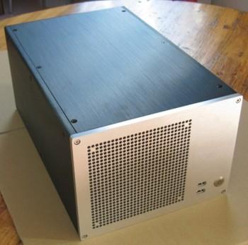 Mini PC HDMI Atx power supply itx computer case computer lengthen edition bz06 bz06l aluminum htpc computer case PC Atom