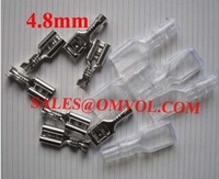 4.8mm Crimp Terminal Female Spade Connector with Case