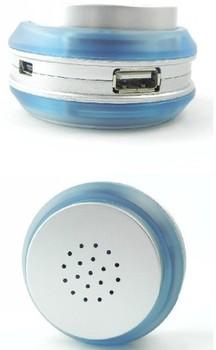 USB Hub and Speaker Computer mini Speakers Free Shipping 3 USB Ports Size--16*3.1*20 (cm)