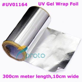 Free ship- Aluminum Foil for Nail Remover UV Gel Nail Wraps Especial For Soak Off UV Gel Remove Dropshipping [retail] SKU:F0093