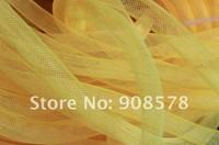 Yellow 16mm Tubular Crinoline Large diameter used to make cyberlox hair extensions 90yards