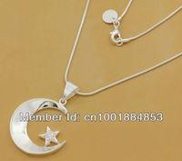 GY-PN535 Free Shipping 925 Silver fashion jewelry pendant Chain Necklace , 925 silver jewelry hiua qaba yrka