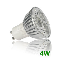 12 X LED BULB GU10 Day Warm white Spot 4W LED save Energy decoration Lamp Light = 75W Halogen
