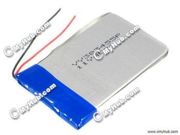 3.7V 620mAh YY383455P 383455P 383455 3.8x34x55mm (HxWxL) Lipo  Lithium Polymer Rechargeable Battery