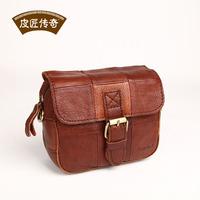 Quality ! Genuine Leather Mini bag multifunctional  cowhide fashion vintage messenger bag