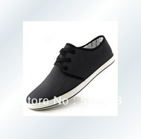 Free shipping fashionable men's casual shoes ,man canvas shoes