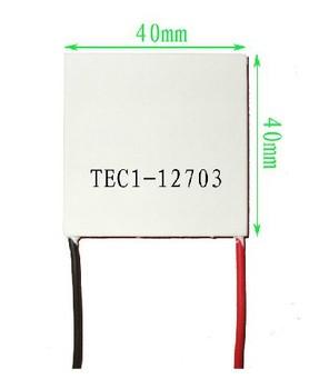 Free shipping 5pcs/lot TEC1-12703 Thermoelectric Cooler TEC Peltier 12V 3A Peltier Cells, TEC12703 peltier module