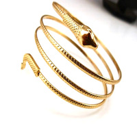 Retail wholesale small metal alloy snake bracelet b099