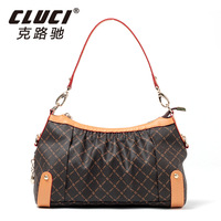 Cluci women's handbag vintage women's handbag all-match fashion quinquagenarian portable women's handbag bag