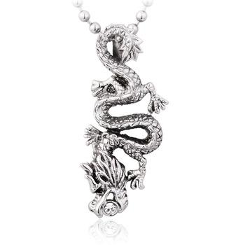 Beier bell fashion male titanium long pendant book accessories Men dragon pendant