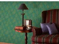 Modern Style Dark Green Nature Friendly Nonwoven Wallpaper