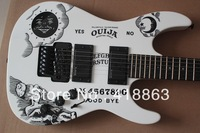 New moon goddess double rocking the white model LTD electric guitar special spot sales