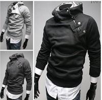 NEW Mens Slim Fit Sexy Top Designed Hoodies Jackets Coats M L XL XXL E39