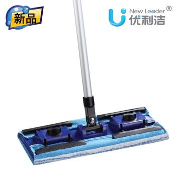 Uni mop butterfly clip incluedes flat mop flat mop thick mop