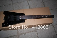 Mr Steinberg headless guitar black color can be customized. Changes according to the requiremen