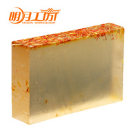 Handmade soap natural safflowers whitening essential oil soap 100
