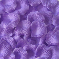 Free Shipping 4000pcs/lot Dark Purple Wedding Accessories Fashion Atificial Flowers Polyester Wedding Rose Petals Wholesale