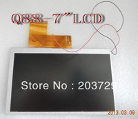 Replacement touch screen 7 inch Allwinner A13 Q88  LCD Tablet PC MID  Free shipping