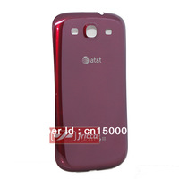 New OEM Battery Door Back Cover For Samsung Galaxy S3 III AT&T i747 Garnet Red