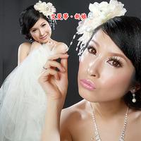 White bridal bride hairpin hair accessory the bride hair accessory bride fedoras bridal accessories 338