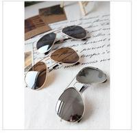 Sunglasses contracted frog mirror reflective Multi sunglasses, Japan and South Korea elegant sun glasses