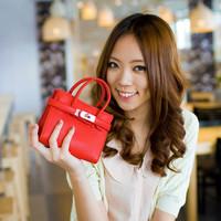 New 2014 Fashion women messenger candy cute cross body bags leather handbags shoulder clutch bag for girls free shipping Q7852