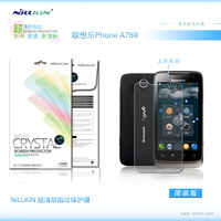 2PCS/lot ,High Quality Original Nillkin HD Screen Protector For lenovo a789 hd protective film,Anti-fingerprint