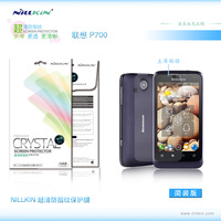 2PCS/lot ,High Quality Original Nillkin HD Screen Protector For lenovo phone p700 hd protective film,Anti-fingerprit