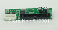 "Hot sale Free Shipping 7+15pin SATA To 3.5"" Male PATA IDE Adapter Converter Card Small PCB"