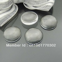 8mm transparent round shape glass cabochon,pendant setting cabochon 2