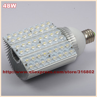 Led street lamp 48W 120lm/W  48X1W  5760LM AC 85-265V Led bulb lamp E27/E40
