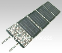 40W Portable Folding Solar Panel to charge Laptopto charge mobilephones and battery chargers
