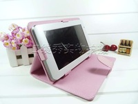 "Multi-Angle Folio Case Stand for COBY KYROS 10.1"" MID1045 MID1042 Tablet PC Free Shpping"